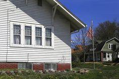 Flagpole ~ Saint Joseph, Missouri USA ~ Copyright ©2013 Bob Travaglione. ALL RIGHTS RESERVED ~ www.JoeTown.Us ~ www.FoToEdge.com