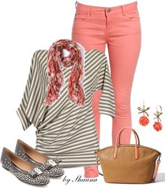 """""""coral rose"""" by shauna-rogers on Polyvore"""