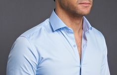 light blue shirt man - Google-haku