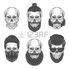 Bildergebnis für bearded sailor skull