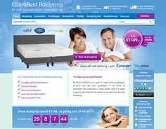 ClimaBest Boxspring by Marit , via Behance