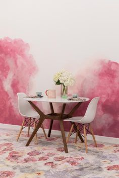 Create a Dreamy Watercolor Wall for Impact   Interior Design Styles and Color Schemes for Home Decorating   HGTV