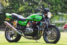 Planet Japan Blog: Kawasaki Zephyr 750 by Bagus!