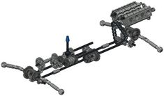 Lego Technic Set #8880.  4 Wheel Drive + 4 Wheel Steering