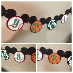 Mickey Mouse Sport Head Banner