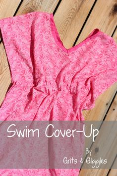 Sewing Ladies Clothes Sew your own Victoria Secret style cover up Diy Clothing, Sewing Clothes, Clothing Patterns, Refashioning Clothes, Sewing Patterns, Bathing Suit Cover Up, Swim Cover, Swimsuit Cover, Bathing Suits