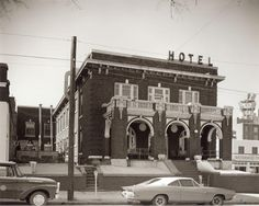 Our History In Pictures | Downtown Shreveport Now much vandalized Arlington Hotel