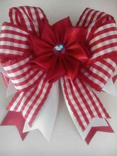 Making Hair Bows, Diy Hair Bows, Bow Hair Clips, Diy Ribbon, Ribbon Work, Ribbon Crafts, Baby Girl Hair Bows, Baby Bows, Gift Bows