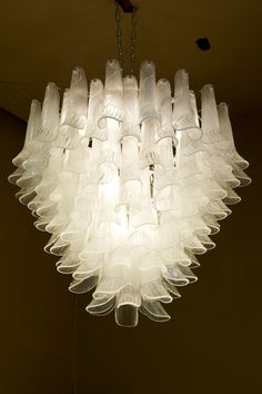 This is another lovely retro Murano glass chandelier. We collaborate with…