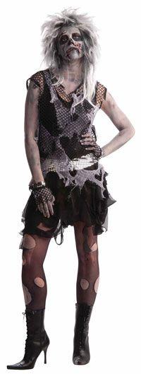 zombie halloween costumes Punk Zombie Costume