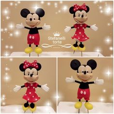 Mickey and Minnie cake topper by stefanelli torte