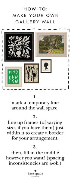shop the perfect additions to your gallery wall.