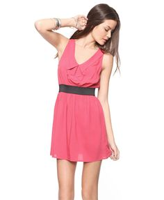 forever21 coral dress $14, #cruise