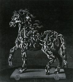 Giuseppe Arcimboldo - Trojan Horse (lost painting). N.d.