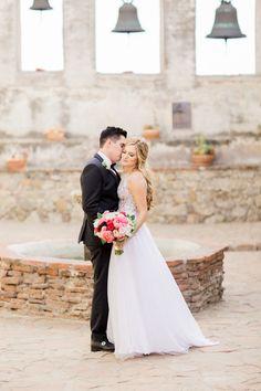 Wedding Photographers: Koman Photography - http://www.stylemepretty.com/portfolio/koman-photography   Read More on SMP: http://www.stylemepretty.com/2016/08/12/classic-rancho-las-lomas-summer-wedding/