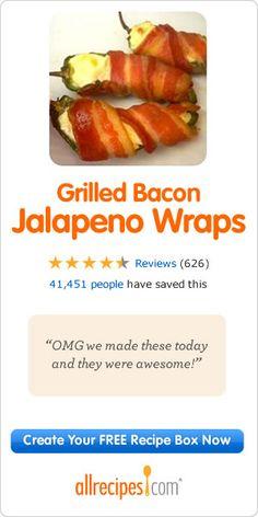 Grilling Jalapenos