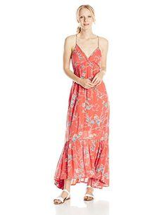 466dbfd80e Billabong Juniors Dream Escape Floral Maxi Dress. Mica Green · Women's  Summer Dresses
