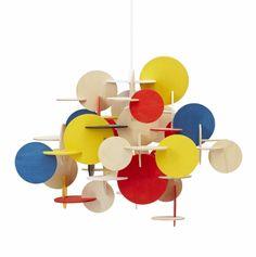 Normann Bau lampe Multicolour Small