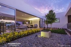 Awesome terrace space. Casa Kopché by Grupo Arquidecture