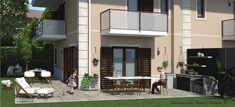 Progettazione villa bifamiliare Mansions, House Styles, Home Decor, Mansion Houses, Homemade Home Decor, Manor Houses, Fancy Houses, Decoration Home, Palaces