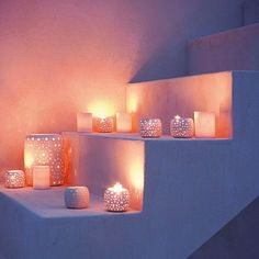 Ceramic pierced votives tealights | Outdoor lighting - 10 ideas | garden lighting ideas | garden ideas | housetohome