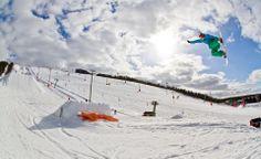 #Street #LeviLapland #snowboard #fun #spring #snow @KristerMajander