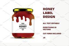 Honey Label v4 by Mihaly on @creativemarket
