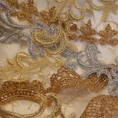 Appliques, Trims and Beads