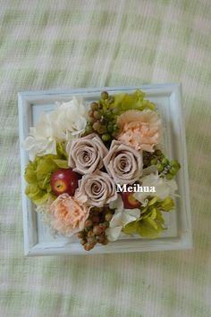 『アップルベリー ヘーゼルナッツカラー』  先日お誕生日用にとご注文頂きましたアップルベリー。 http://www.meihua-f.com/shop/mpri/pri194.html