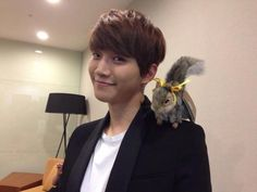 Squirrel and Junho
