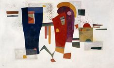 Wassily Kandinsky - Contrast with Accompaniment