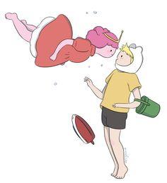 ponyo_bubblegum_finn