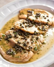 I made this Chicken Piccata  last night and it rocked my face off! Even my husband who doesn't like chicken enjoyed it. I'll probably make it like 8,000 more times.