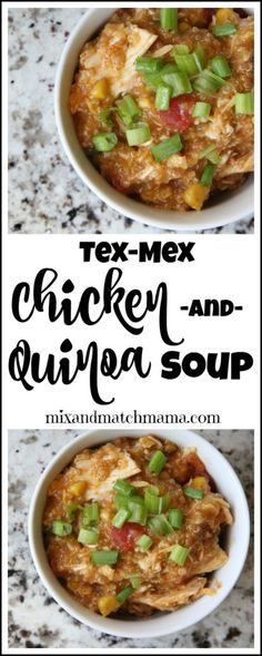 A few months ago, I made a Chicken & Quinoa Soup one night that was...