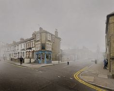 """corner of chelmer road & glyn road homerton hackney london uk ©chris dorley-brown My latest book """"The Longest Way Round"""" available here my website Waterloo Sunset, New Topographics, Multiple Exposure, Old London, East London, Great Photographers, London Photos, London Street, London Calling"""