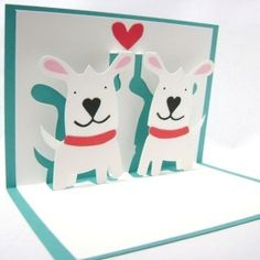 handmade pop up greeting cards