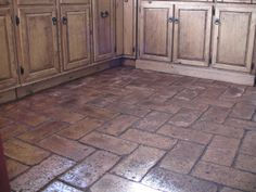 Creative and Modern Ideas Can Change Your Life: Brick Flooring Foyer parket flooring apartment. Brick Flooring, Basement Flooring, Diy Flooring, Flooring Options, Kitchen Flooring, Basement Waterproofing, Linoleum Flooring, Kitchen Tile, Brick Floors In Kitchen