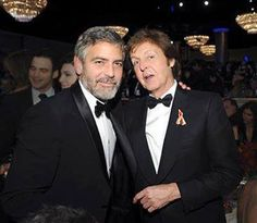 Clooney and McCartney