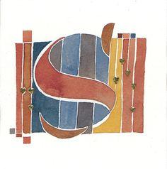 MannyLing - CalligraphyS for Susan (geinspireerd door Adolf Bernd?)