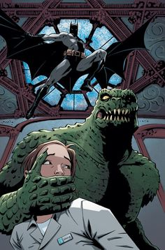 Batman & Killer Croc