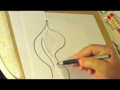 Realistic Flames Airbrushing Exercise - YouTube