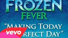 """Making Today a Perfect Day (From """"Frozen Fever"""") - Single by Idina Menzel, Kristen Bell & The Cast of Frozen Fever on Apple Music Disney Love, Disney Frozen, Frozen 2013, Cinderella Disney, Disney Disney, Frozen Fever Party, Frozen Songs, Film Frozen, One Day"""