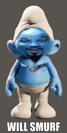 Cursed Images Discover Will Will Smith smurf? Will Smith will smurf. Crazy Funny Memes, Really Funny Memes, Stupid Memes, Funny Relatable Memes, Haha Funny, Memes Humor, Shrek Memes, Response Memes, Celebrity Memes