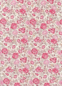 Liberty Tana Lawn fabric Felicite 6x27 fabric by MissElany, $ 4.20