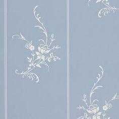 Elsinore Floral Strp Wedgewood by Ralph Lauren