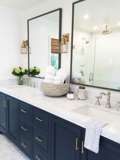 40 Rustic Farmhouse Master Bathroom Remodel Ideas
