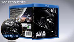 Star Wars IV - Uma Nova Esperança (Blu-Ray) - CAPA - Capa | VITRINE - Galeria De Capas - Designer Covers Custom | Capas & Labels Customizados