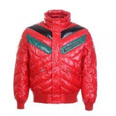 a07957d2eecc Soldes Doudoune Moncler - Doudoune Moncler Homme Col Montant Rouge Mens  Down Jacket, Quilted Jacket