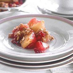 Pear Cranberry Crisp