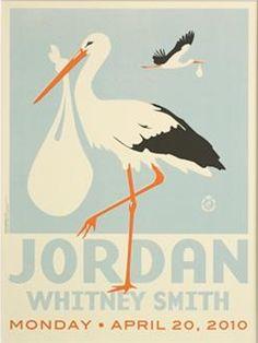 Vintage Stork